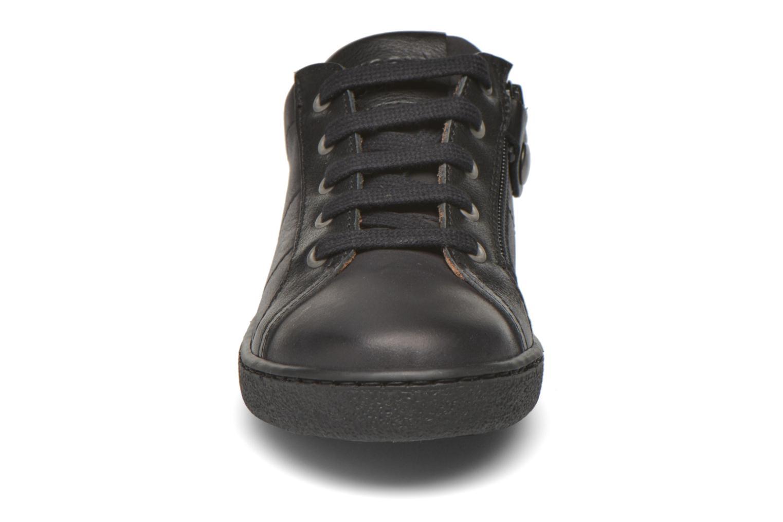 Baskets Bisgaard Peter Noir vue portées chaussures