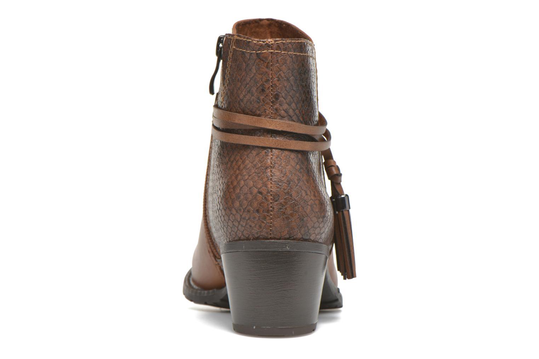 Bottines et boots Marco Tozzi Bonite Marron vue droite