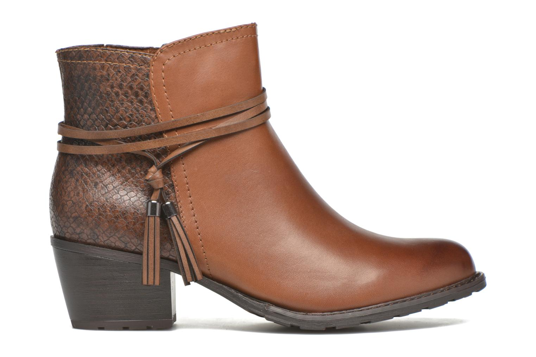 Boots en enkellaarsjes Marco Tozzi Bonite Bruin achterkant