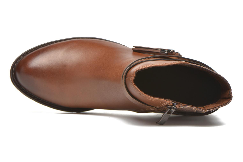 Bottines et boots Marco Tozzi Bonite Marron vue gauche