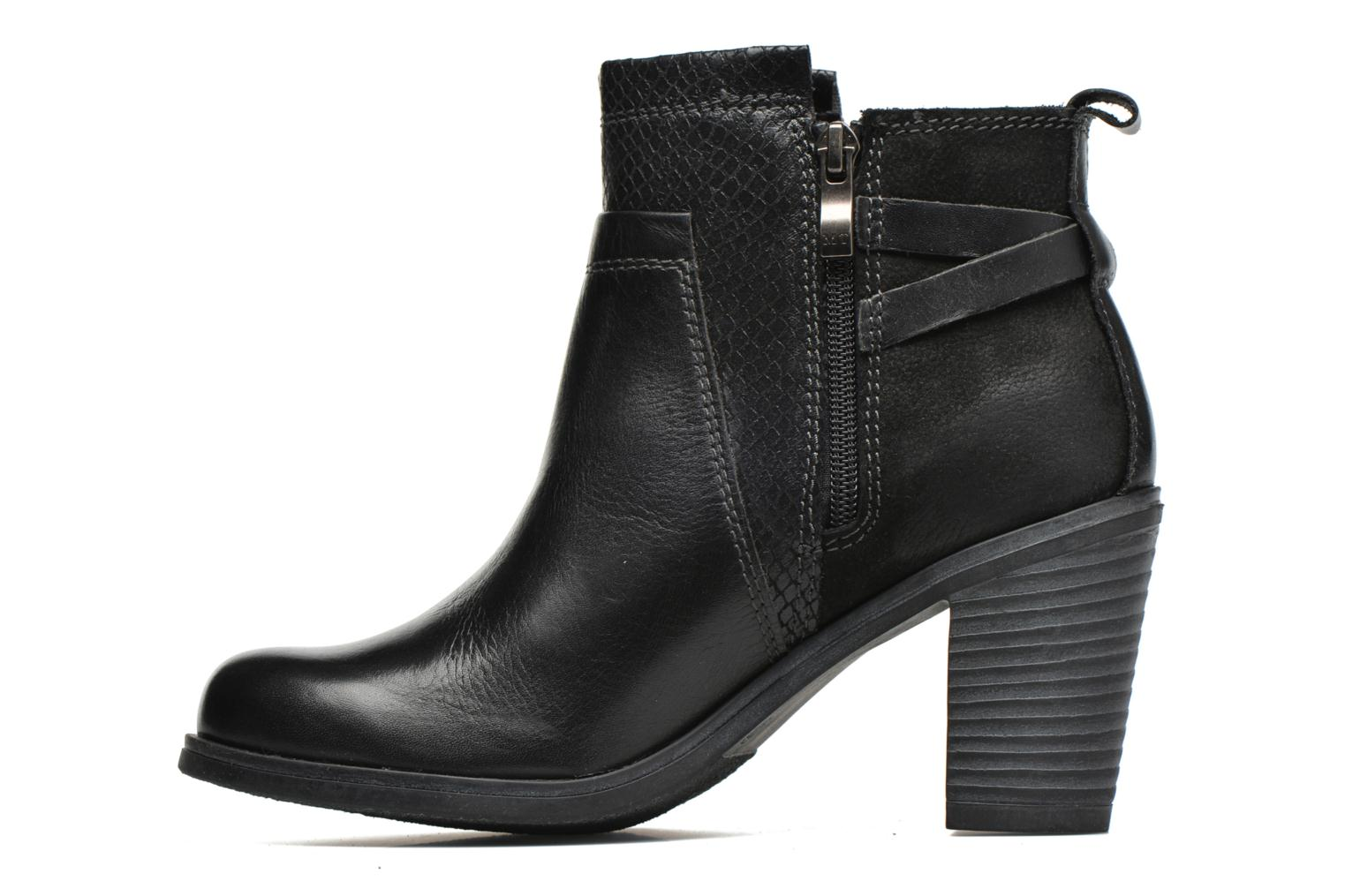 Ankle boots Marco Tozzi Blade Black front view