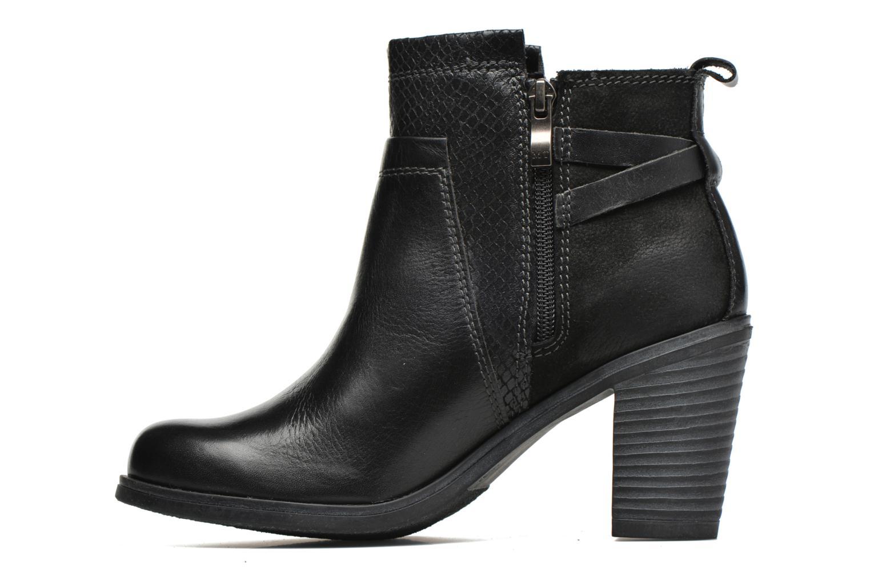 Bottines et boots Marco Tozzi Blade Noir vue face