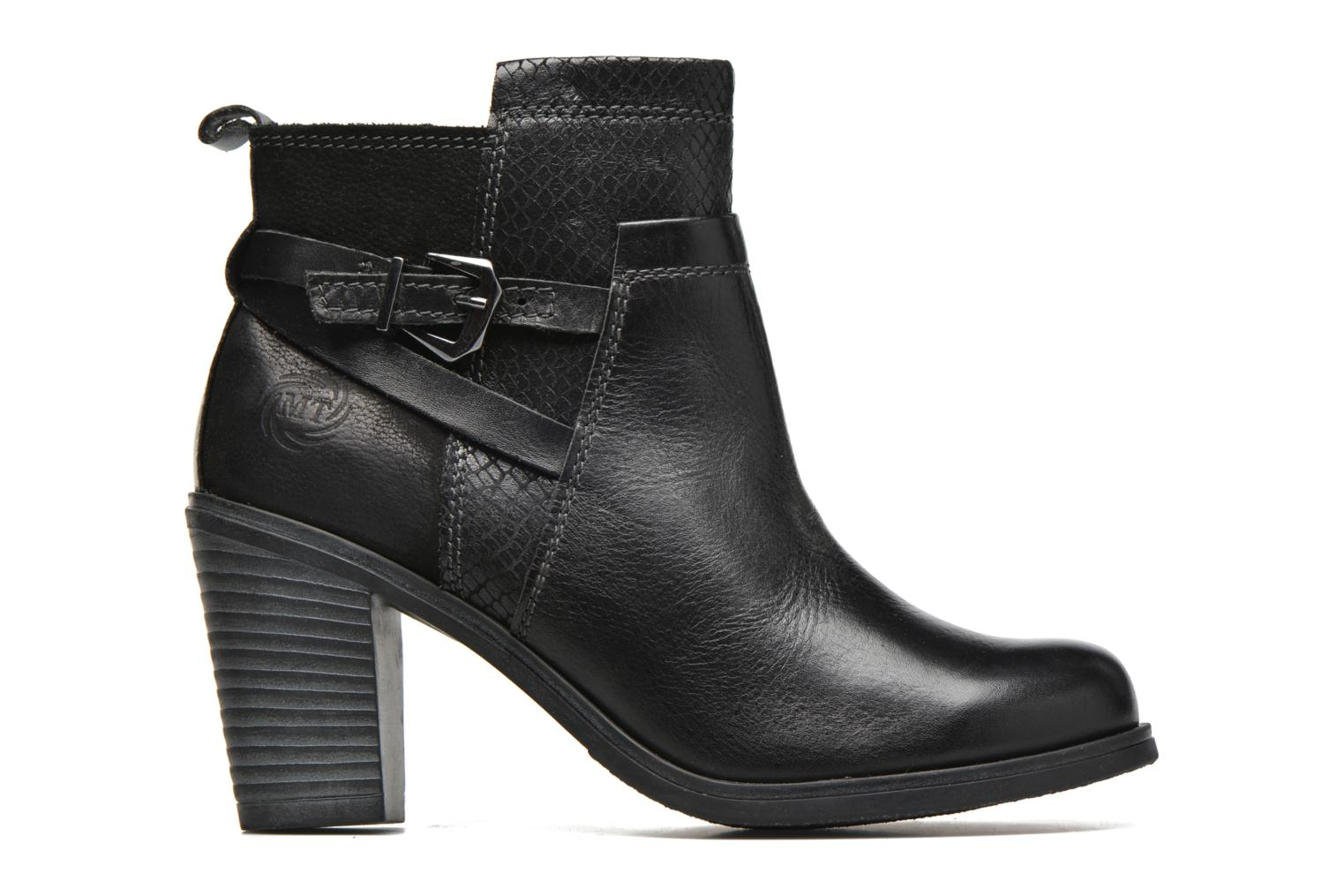 Ankle boots Marco Tozzi Blade Black back view