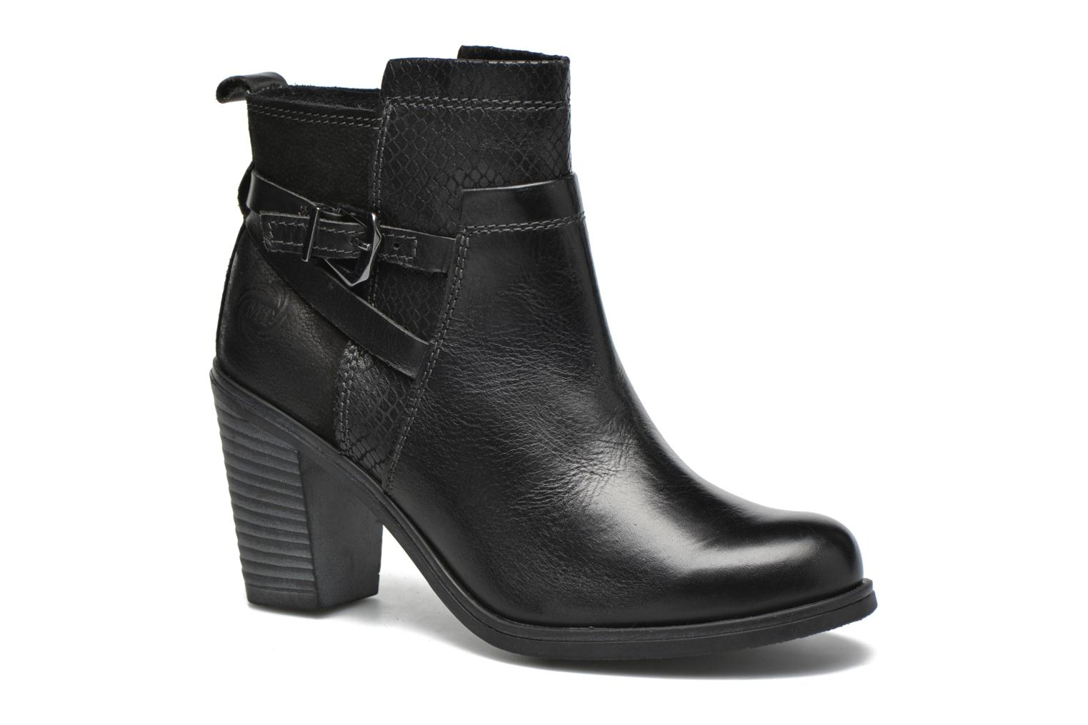 Ankle boots Marco Tozzi Blade Black detailed view/ Pair view