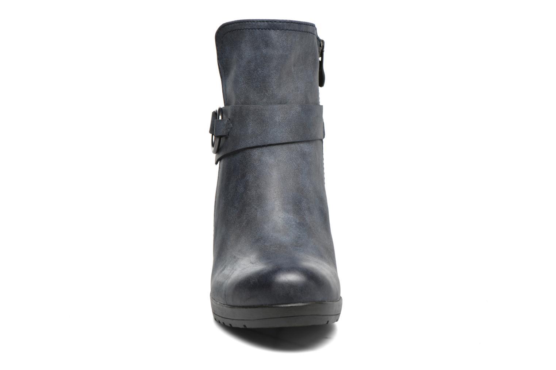 Bottines et boots Marco Tozzi Loubine Bleu vue portées chaussures
