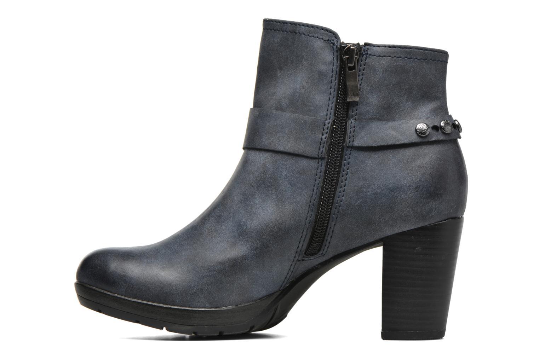 Bottines et boots Marco Tozzi Loubine Bleu vue face