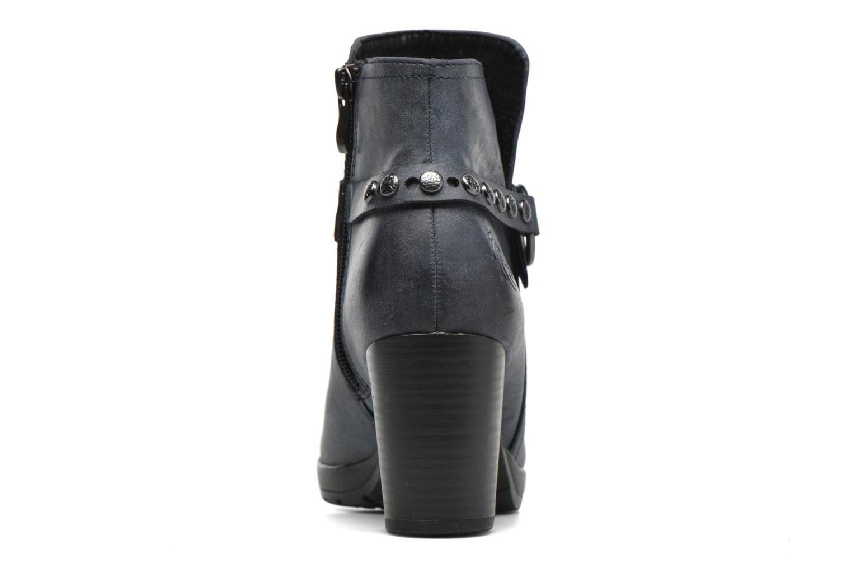 Bottines et boots Marco Tozzi Loubine Bleu vue droite