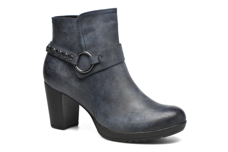 Bottines et boots Marco Tozzi Loubine Bleu vue détail/paire