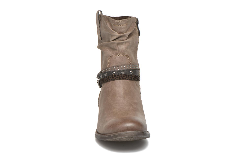 Bottines et boots Marco Tozzi Meunier Marron vue portées chaussures