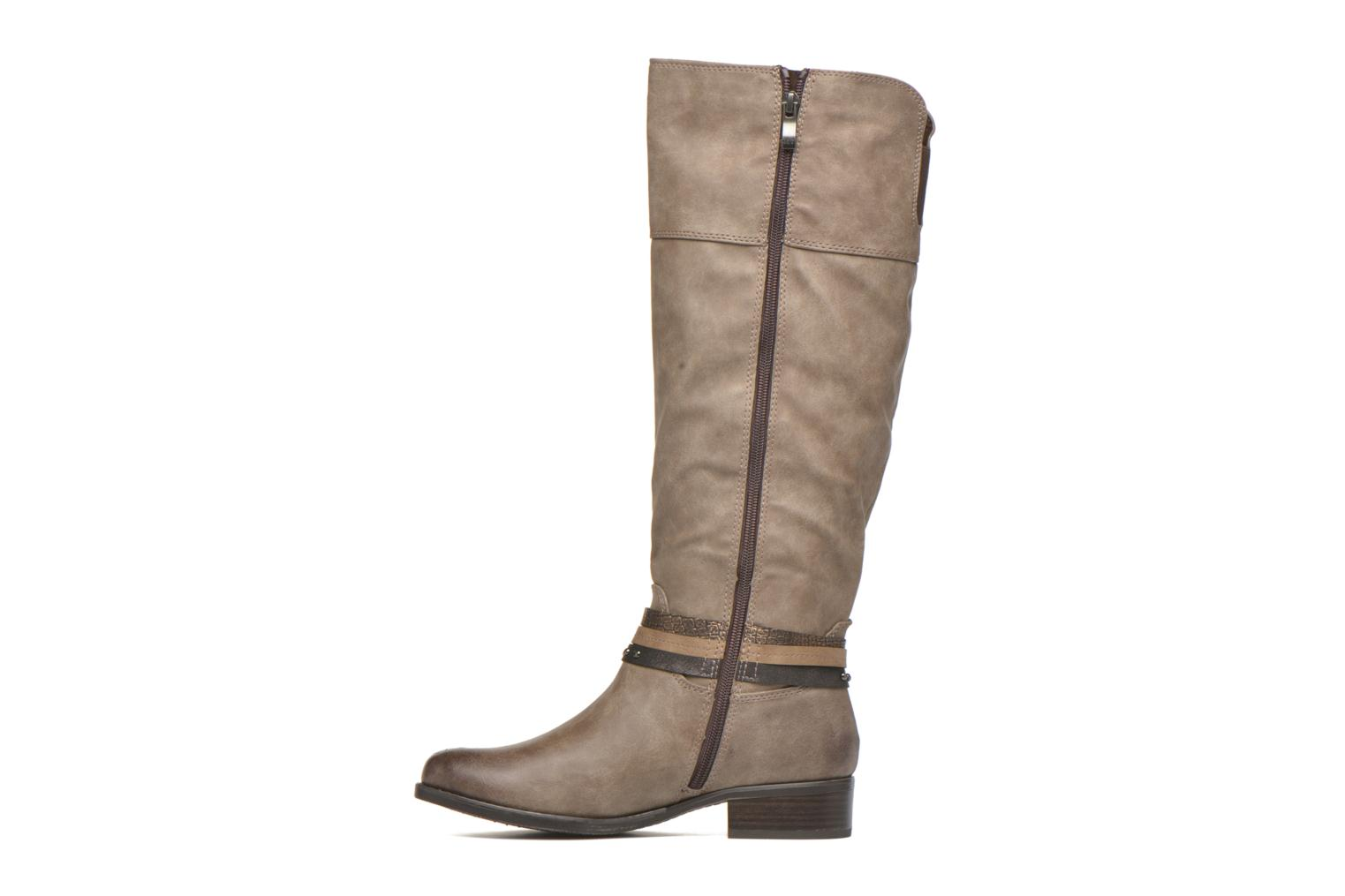 Boots & wellies Marco Tozzi Rason Brown front view