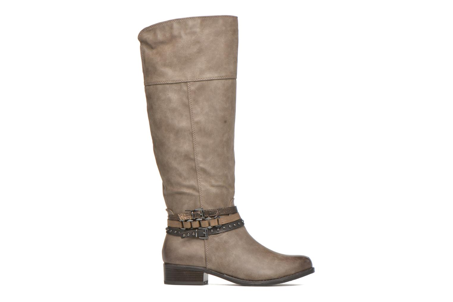 Boots & wellies Marco Tozzi Rason Brown back view