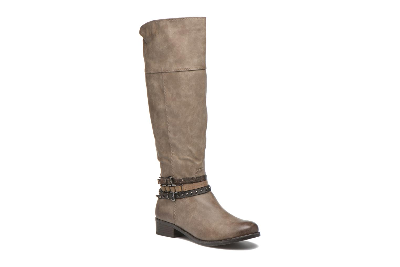 Boots & wellies Marco Tozzi Rason Brown detailed view/ Pair view