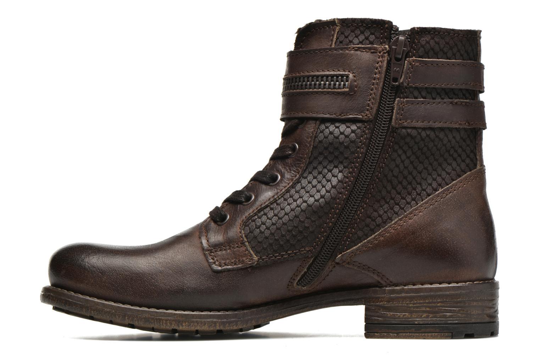 Stiefeletten & Boots Marco Tozzi Rondin braun ansicht von vorne