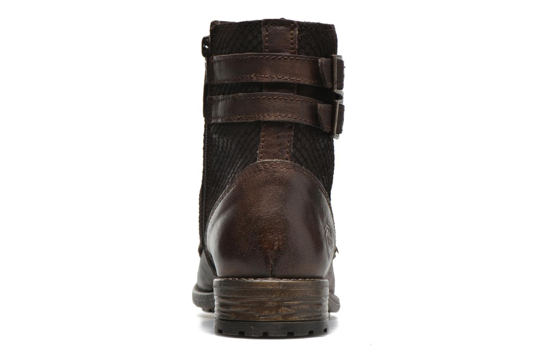 Bottines et boots Marco Tozzi Rondin Marron vue droite
