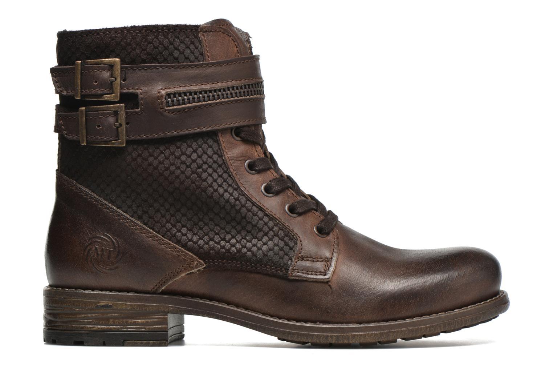 Bottines et boots Marco Tozzi Rondin Marron vue derrière