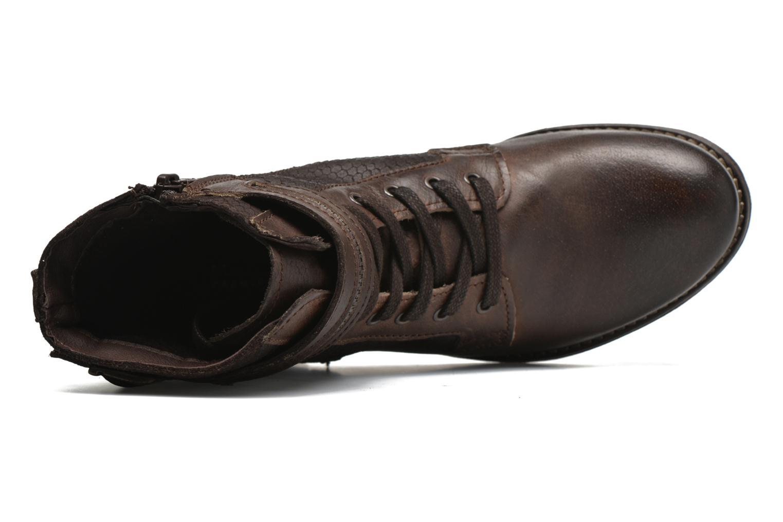 Bottines et boots Marco Tozzi Rondin Marron vue gauche