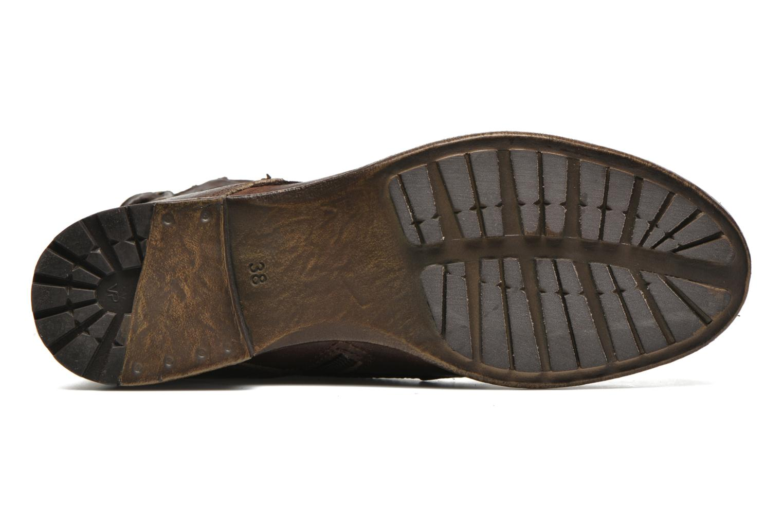 Stiefeletten & Boots Marco Tozzi Rondin braun ansicht von oben