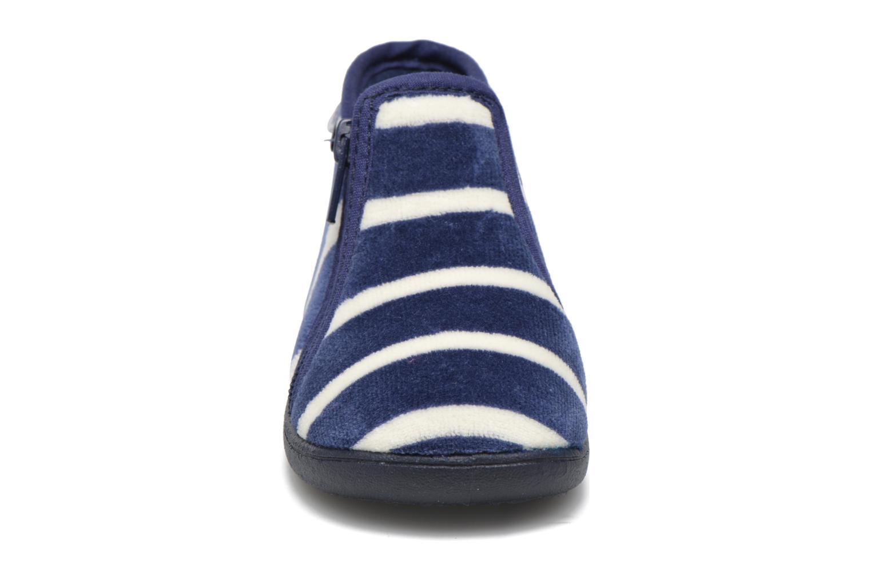 Chaussons Petit bateau PB Conte Bleu Bleu vue portées chaussures
