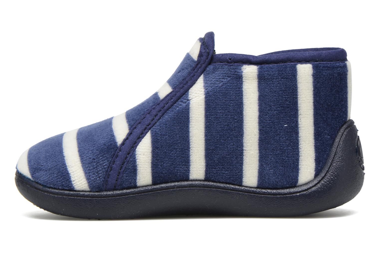 Chaussons Petit bateau PB Conte Bleu Bleu vue face