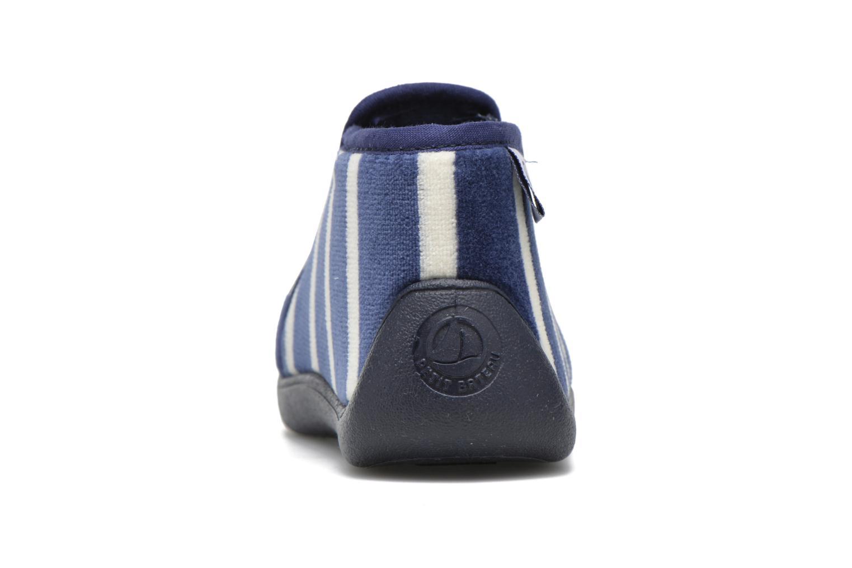 Chaussons Petit bateau PB Conte Bleu Bleu vue droite