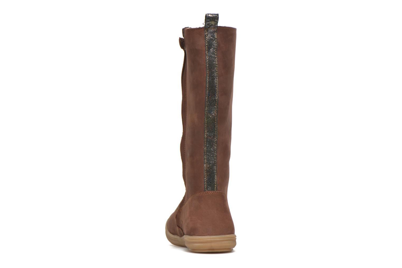 Stiefel Minibel Hagiseleh braun ansicht von rechts