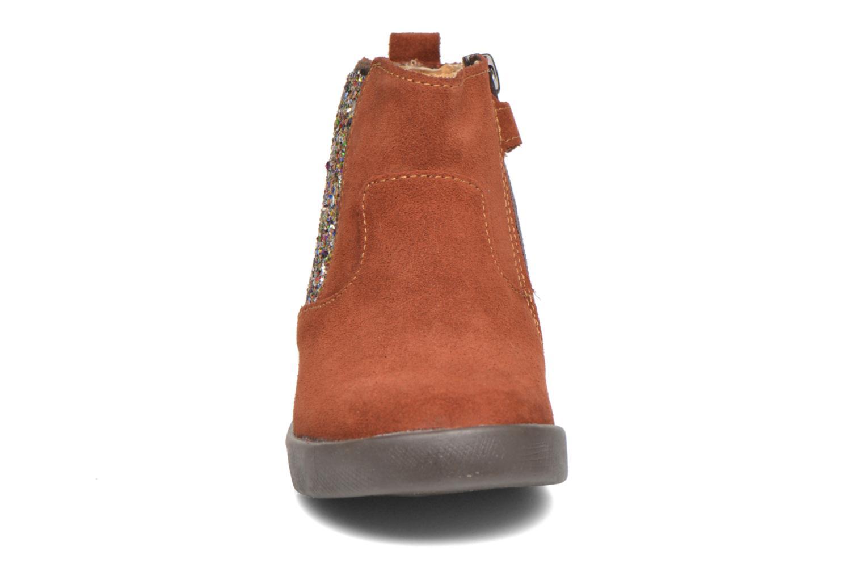 Stiefeletten & Boots Minibel Laura braun schuhe getragen