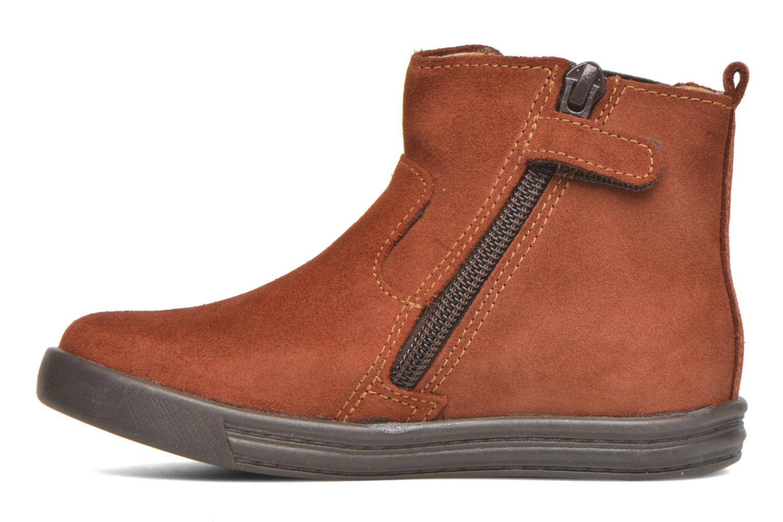 Stiefeletten & Boots Minibel Laura braun ansicht von vorne