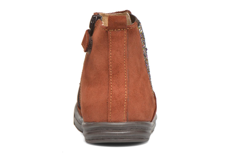 Stiefeletten & Boots Minibel Laura braun ansicht von rechts