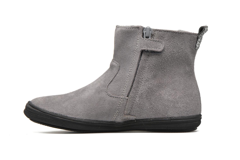 Stiefeletten & Boots Minibel Ludique grau ansicht von vorne
