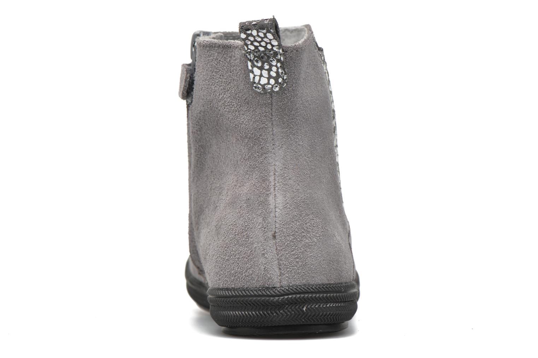 Stiefeletten & Boots Minibel Ludique grau ansicht von rechts