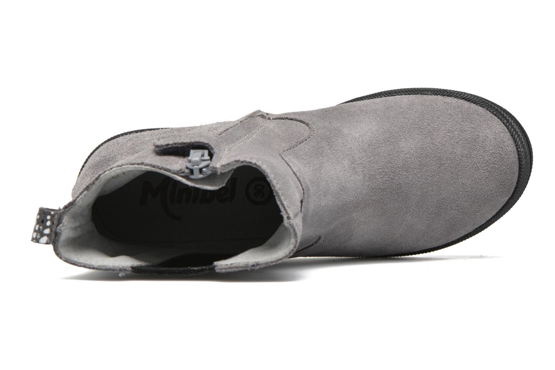 Stiefeletten & Boots Minibel Ludique grau ansicht von links