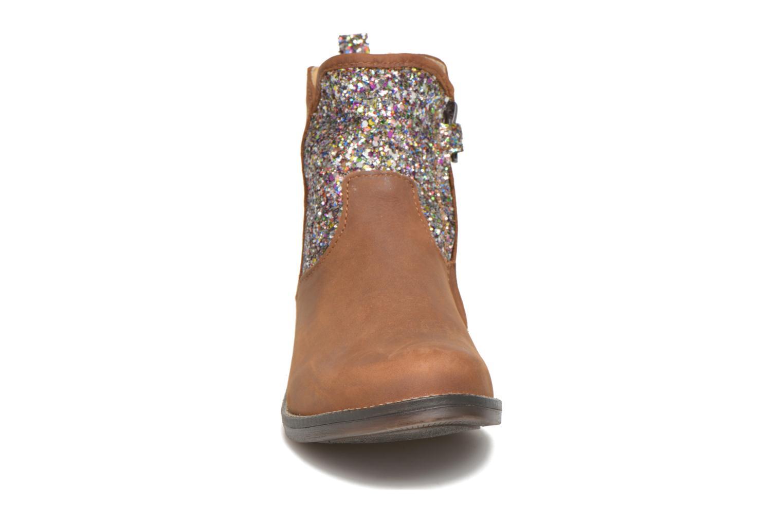 Bottines et boots Minibel Lunela Marron vue portées chaussures