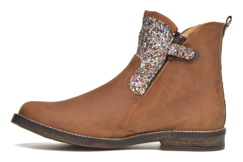 Bottines et boots Minibel Lunela Marron vue face