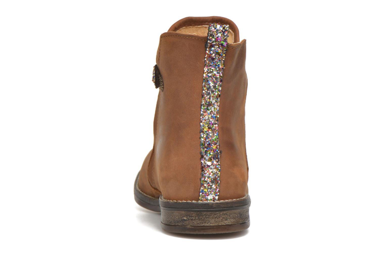 Bottines et boots Minibel Lunela Marron vue droite