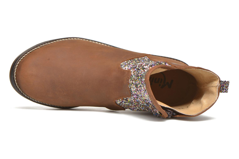 Bottines et boots Minibel Lunela Marron vue gauche