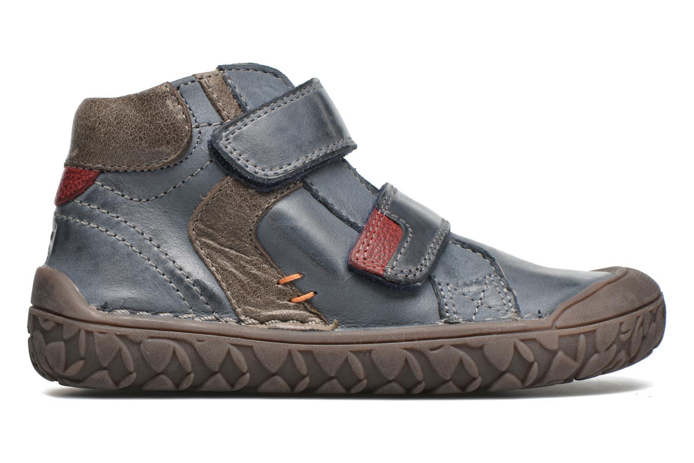 Chaussures à scratch Noël Nino2 Bleu vue derrière