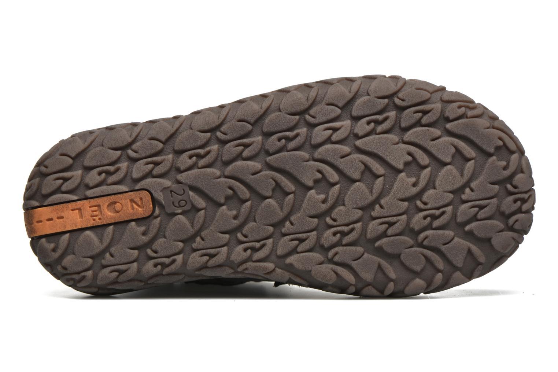 Chaussures à scratch Noël Nino2 Bleu vue haut