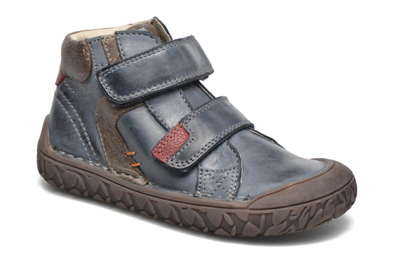 Chaussures à scratch Noël Nino2 Bleu vue détail/paire