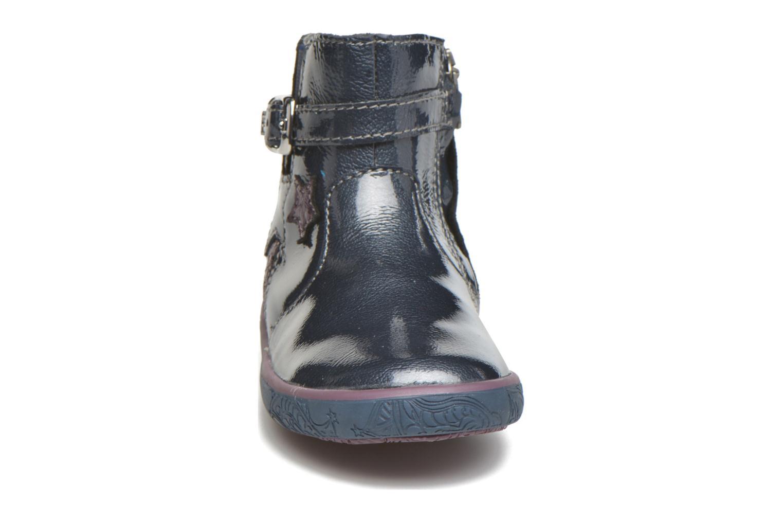 Bottines et boots Noël Mini Alba Bleu vue portées chaussures