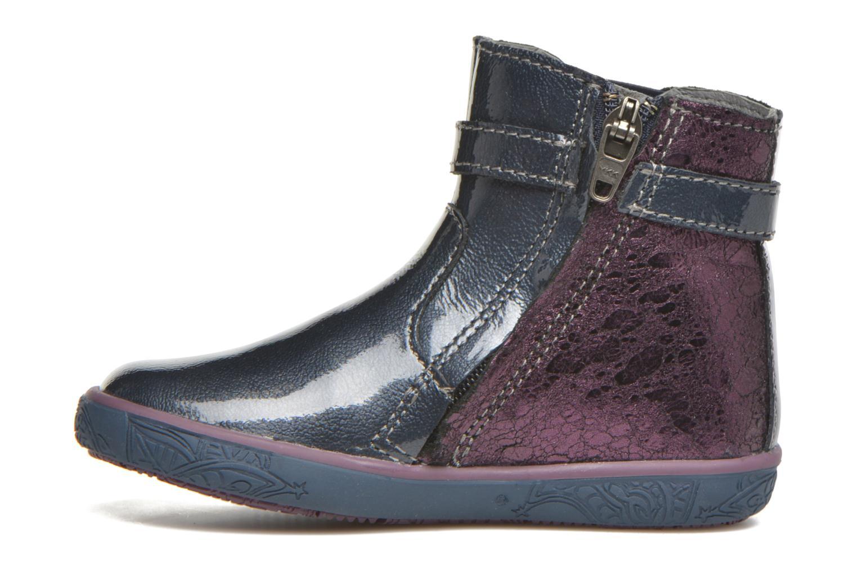Bottines et boots Noël Mini Alba Bleu vue face
