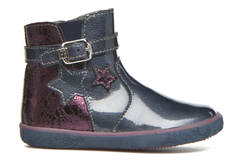 Bottines et boots Noël Mini Alba Bleu vue derrière