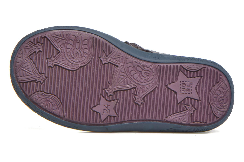 Bottines et boots Noël Mini Alba Bleu vue haut