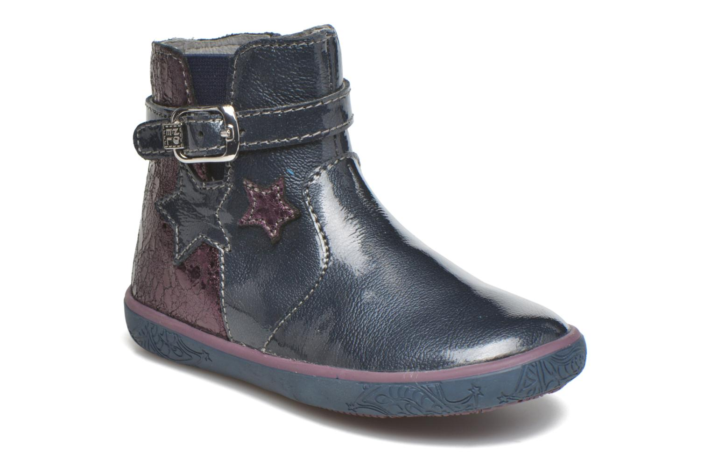 Bottines et boots Noël Mini Alba Bleu vue détail/paire