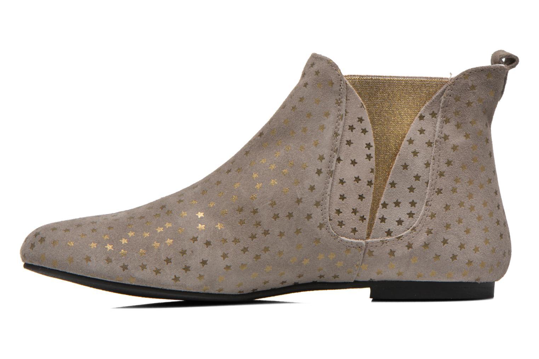 Stiefeletten & Boots Ippon Vintage Patch gold beige ansicht von vorne