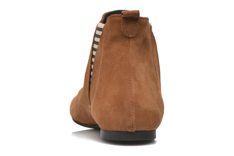 Bottines et boots Ippon Vintage Patch folk Marron vue droite