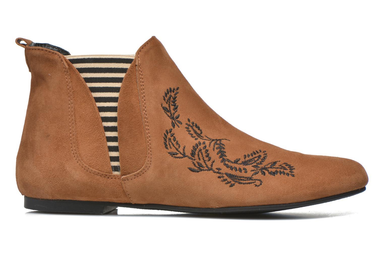 Bottines et boots Ippon Vintage Patch folk Marron vue derrière
