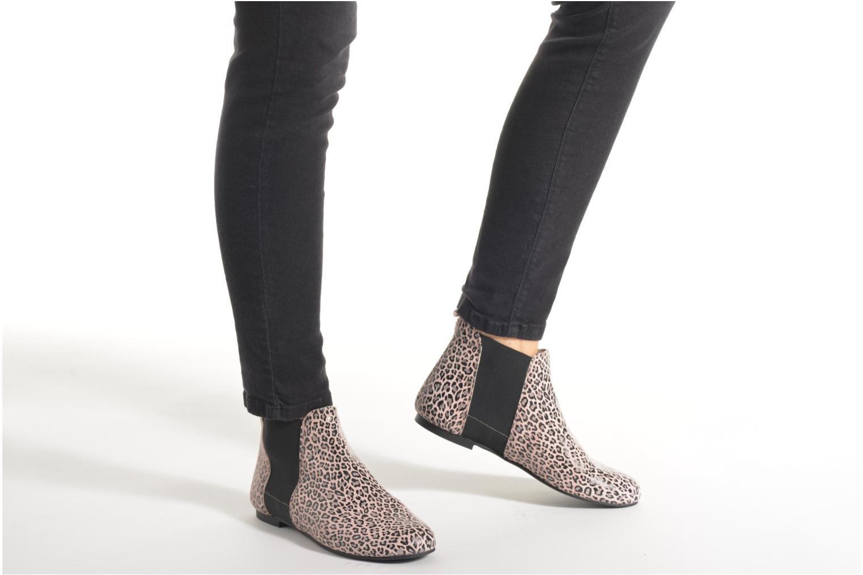 Bottines et boots Ippon Vintage Bazar Léo Multicolore vue bas / vue portée sac