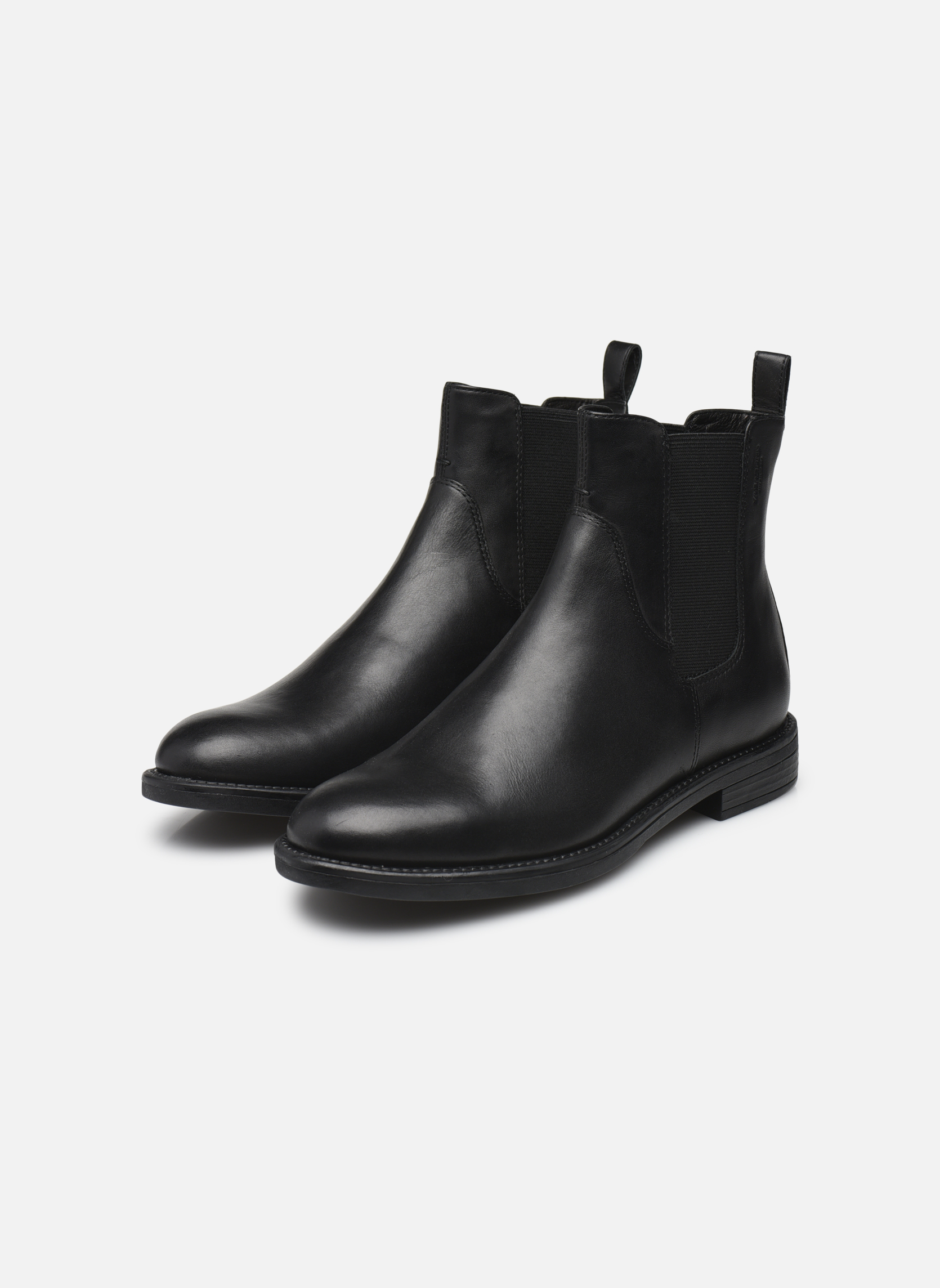 Ankle boots Vagabond AMINA 4203-801 Black view from underneath / model view
