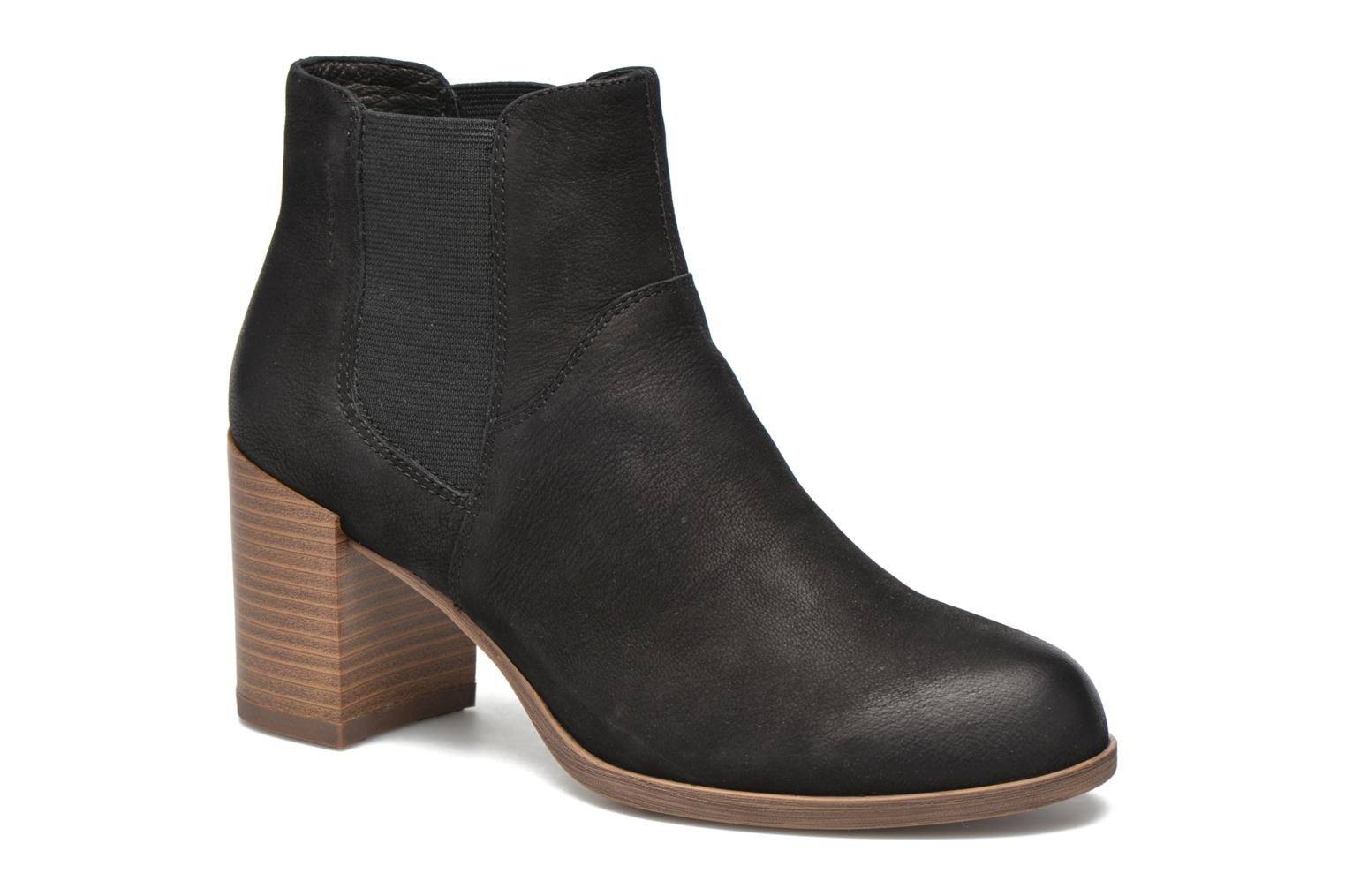 Ankle boots Vagabond Shoemakers ANNA 4221-050 Black detailed view/ Pair view