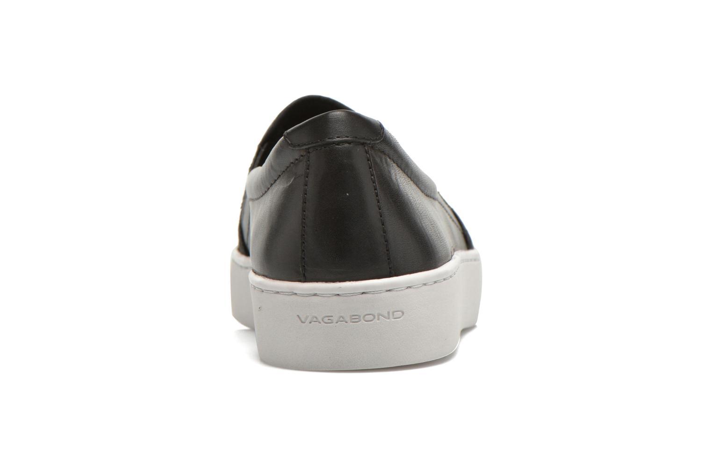 Baskets Vagabond Shoemakers ZOE SLIP-ON 4326-350 Noir vue droite